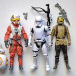 """StarWars collection : Star Wars Hasbro 3,75"""": Lot de figurines Rogue One & Le Réveil de la Force"""
