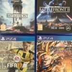 Lot Jeux PS4 - Dragon Ball, Star Wars, Fifa  - jeu StarWars
