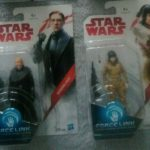 StarWars collection : STAR WARS LOT 2 FIGURINES  ROSE GENERAL  HUX  HASBRO 2017