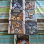 Lot jeux Nintendo 3Ds Star Wars - jeu StarWars