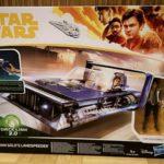 Figurine StarWars : STAR WARS A SOLO STORY HAN SOLO'S LANDSPEEDER + Han SOLO Figure