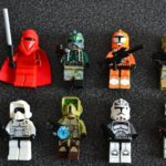 Figurine StarWars : Lot 8 minifig figurine personnage STAR WARS neuf Dark Vador Maul Jedi Trooper.