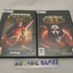 LOT 2 JEUX STAR WARS KNIGHTS OF THE OLD - Occasion StarWars