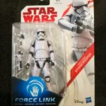 "StarWars collection : Star Wars The Last Jedi 3.75"" Inch Stormtrooper Force Link Figure"