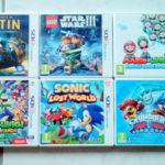 6 JEUX DS 3DS NINTENDO STAR WARS MARIO LUIGI - Bonne affaire StarWars