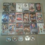VENDS 22 JEUX PSP ET 1 FILM (LARA CRAFT STAR - jeu StarWars