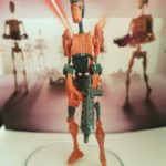 StarWars figurine : STAR WARS FIGURINE ROCKET BATTLE DROID SÉRIE THE CLONE WARS EN LOOSE NEUF