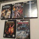 Pack 5 Jeux Star Wars Sur PC - Occasion StarWars