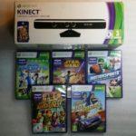 Capteur Kinect Xbox 360 + 5 Jeux Star Wars - Bonne affaire StarWars