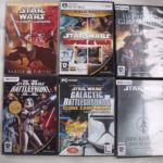 LOT DE 6 JEUX PC STAR WARS - jeu StarWars