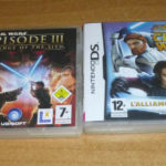 2 jeux nintendo DS - Star wars the clone wars - pas cher StarWars