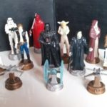 StarWars collection : LOT FIGURINES STAR WARS : DARK VADOR, HAN SOLO, R2-D2,  BOBA FET, OBI-WAKENOBI