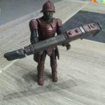 StarWars figurine : Figurine star wars neomidian warrior hasbro 2004