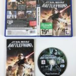 Jeu Ps2 Star Wars Battlefront - jeu StarWars