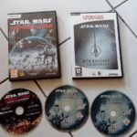 A collectionner ! 2 Jeux PC STAR WARS Empire - jeu StarWars
