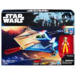 StarWars figurine : Figurine Vaisseau Hasbro STAR WARS Nerf Rebels Hera Syundulla A-Wing Réf B8929
