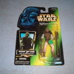 Figurine StarWars : STAR WARS FIGURINE (c)1997 KENNER - WEEQUAY SKIFF GUARD (neuf)