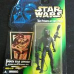 StarWars collection : Star Wars: Power of the Force Green Card death star gunner Action Figure