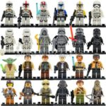 StarWars collection : Mini Figurine Star wars Dark vador yoda luke skywalker lego et compatible