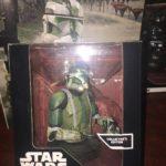 Figurine StarWars : Figurine Buste Collection STAR WARS COMMANDANT GREE N° 7