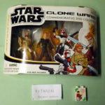 StarWars figurine : BRAND NEW STAR WARS CLONE WARS COMMEMORATIVE DVD COLLECTION JEDI FORCE 2005 NEUF