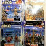 StarWars figurine : Star wars Lot Droids et figurines en blisters Hasbro