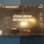 Jeu vidéo Nintendo 64 rare STAR WARS RACER - pas cher StarWars