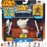 StarWars collection : STAR WARS HASBRO A8945 COMMAND JEDI DUAL SET 12 FIGURINES NEUF
