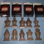 Figurine StarWars : STAR WARS FIGURINE (c)1999 KELLOGG'S - SERIE COMPLETE 10 FIGURINES + NOTICES