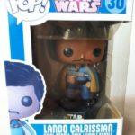 Figurine StarWars : Figurine  FUNKO POP - Star Wars - Lando Calrissian - Boîte décolorée