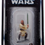 StarWars figurine : Figurine collection Atlas STAR WARS QUI GON JINN Chevalier Jedi Figure