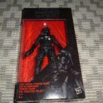 Figurine StarWars : Figurine STAR WARS, Black Series, 1st Order TIE FIGHTER NEUF sous BLISTER, 15 cm
