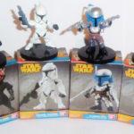 Figurine StarWars : STAR WARS -Darth Maul Jango Fett C3-PO Clonetroopers -Collection lot 4 figurine