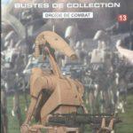 StarWars figurine : Figurine Buste Collection STAR WARS DROÏDE DE COMBAT N0 13