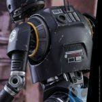 StarWars figurine : figurine Hot Toys MMS406 Star Wars Rogue One K2SO