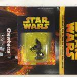 StarWars figurine : star wars figurine en plomb chewbacca n10/60 neuve blister fascicule atlas