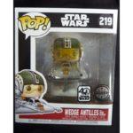 StarWars collection : Figurine Funko Pop Star Wars  - 219 Wedge Antilles - Exclusive - Neuf