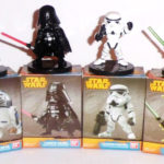 StarWars collection : STAR WARS - Yoda Dark Vador R2-D2 Stormtroopers - collection lot 4 figurines 6cm