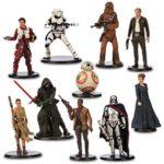 Figurine StarWars : Figurines de Luxe Star Wars : Le Réveil de La Force Disney Store Original neuf