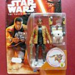 Figurine StarWars : Figurine Star Wars The force awakens Finn Jakku - Figurine Hasbro 2015 Neuve