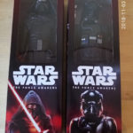 "Figurine StarWars : Lot 2 figurines Hasbro Star Wars - Kylo Ren - The Fighter Pilot - 12"" 30cm"