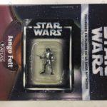 StarWars figurine : star wars figurine en plomb jango fett n25/60 neuve blister fascicule atlas