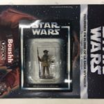 StarWars collection : star wars figurine en plomb boushh n44/60 neuve blister fascicule atlas
