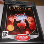 jeu sony PS2 star wars episode lll  - jeu StarWars