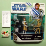 Figurine StarWars : BRAND NEW STAR WARS CLONE WARS 2-PACK OBI-WAN KENOBI BATTLE DROID 2008-2009 NEUF