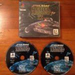 Disque de jeu Playstation 1 PS1 Star Wars - jeu StarWars