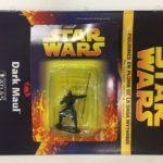 StarWars figurine : star wars figurine en plomb dark maul n8/60 neuve blister fascicule atlas