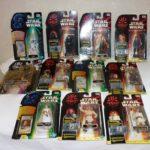Figurine StarWars : lot de 11 figurine star wars episode 1 Hasbro  box 1999