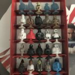 Figurine StarWars : ENSEMBLE MINIES FIGURINES STAR WARS ET FAUCON MILLENIUM