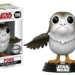 Figurine StarWars : Figurine Star Wars episode 8 - Porg Open Wings Exclusive Pop 10cm